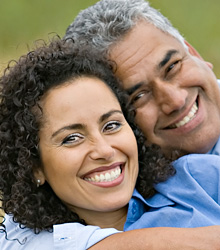 stock photo of a mature adult couple